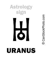 行星, astrology:, 天王星