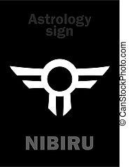 行星, astrology:, 流氓, nibiru