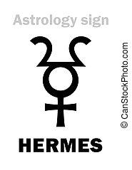 行星, astrology:, hermes