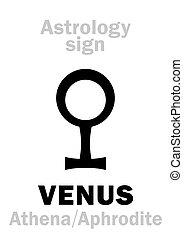 行星, astrology:, venus