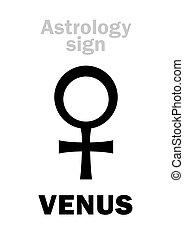 行星, (female), astrology:, venus