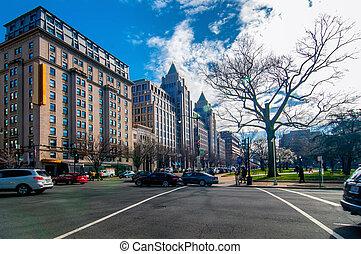 街道, 華盛頓特區, 美國