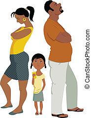 衝突, 家庭, affects, 孩子