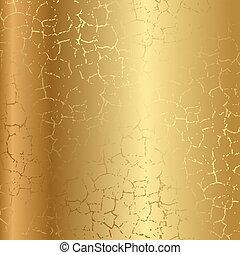 裂縫, 金, 結構