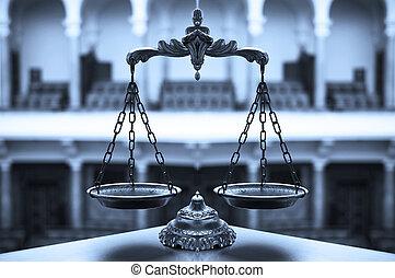 裝飾, 正義, 規模