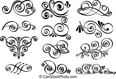 裝飾, 矢量, 設計元素