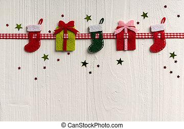 裝飾, 繪, 鄉村, 背景, 蟒蛇, 白色 聖誕節