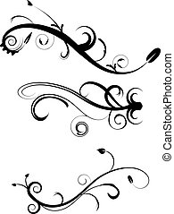 裝飾, flourishes, 2, 集合
