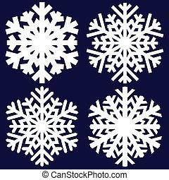 裝飾, snowflake., 摘要