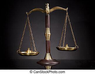 規模, 正義