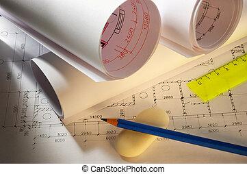 計划, 鉛筆
