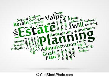 計劃, 財產