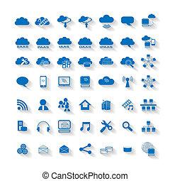 計算, 雲, 网, 网絡, 圖象