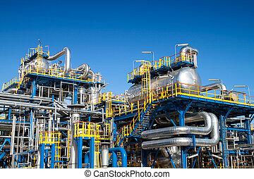 設備, 工業, 油, 安裝