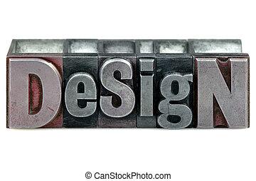 設計, letterpress
