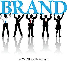 詞, 商業界人士, 商標, 建造, 身分