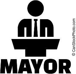 詞, 市長, 圖象