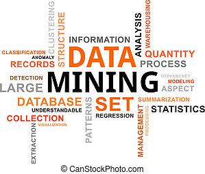 詞, 採礦, -, 雲, 數据