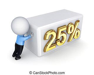 """詞, 推, 人, """"25%."""", 小, 3d"""