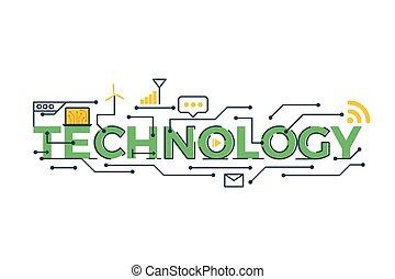 詞, 描述技術