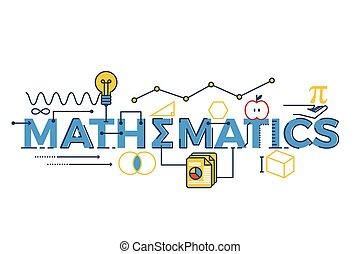 詞, 插圖, 數學