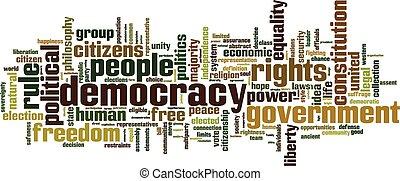 詞, 民主, 雲