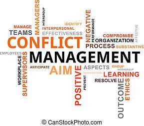 詞, 管理, -, 雲, 衝突