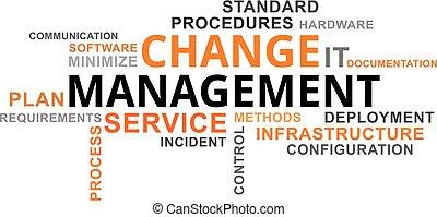 詞, 管理, -, 雲, 變化