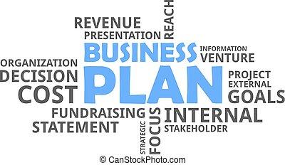 詞, -, 雲, 商業計劃