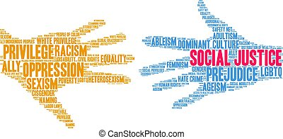 詞, 雲, 社會, 正義