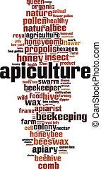 詞, apiculture, 雲