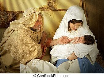 誕生, 馬槽, 聖誕節