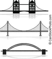 說明, 橋梁