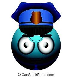 警察, 表現感情, 被隔离