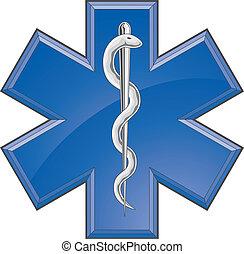 護理人員, 醫學, 援救, 標識語
