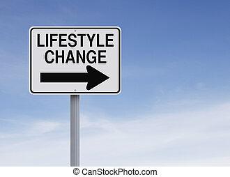 變化, 生活方式