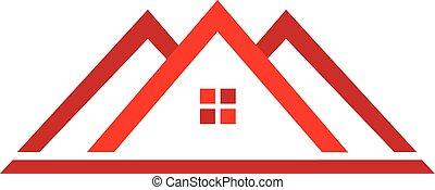 財產, 標識語, 房子, 真正