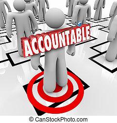 責備, 詞, 茶, 瞄準, 工人, 別住, 人, accountable, org