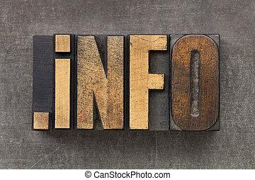 資源, 領域, 資訊, 網際網路
