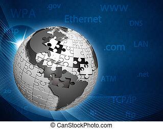 資訊網, 摘要, 全球, 背景, techno