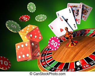 賭博, 比賽