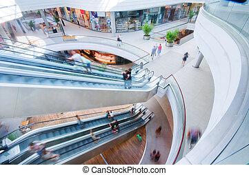 購物中心, 現代, 購物