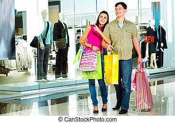 購物中心, 購物