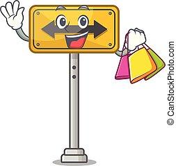 購物, 成形, 通行證, 字, 邊, 也