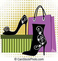 購物, 鞋子