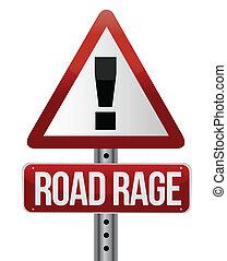路標, 忿怒, 交通