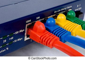 路由器, 電纜