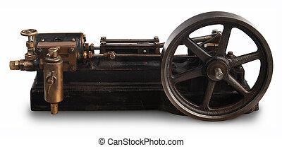 輪子, 活塞, 蒸汽