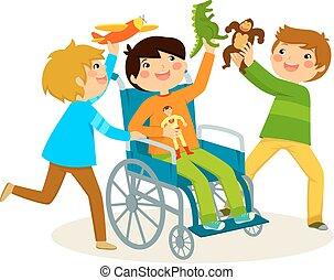 輪椅, 玩