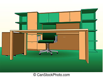 辦公室, 現代, 內部